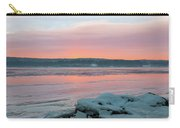February Sunrise On The Hudson Carry-all Pouch