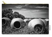 Feed Me - Black And White Carry-all Pouch