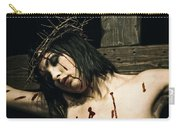 Female Christ Portrait II Carry-all Pouch