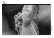 Female In Cemetary II Carry-all Pouch