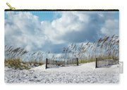 Fences In The Sand Carry-all Pouch