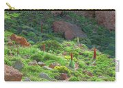 Field Of Echium Wildpretii In The Teide National Park Carry-all Pouch