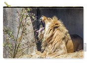 Fierce Yawn Carry-all Pouch by Kate Brown