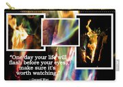 Fire With Color Carry-all Pouch