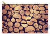 Firewood Logs Carry-all Pouch