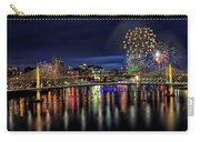 Fireworks And Tillikum Crossing Carry-all Pouch