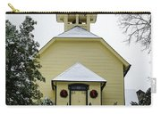 First Presbyterian Church In The Snow Carry-all Pouch