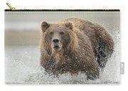 Fish Coastal Brown Bear Of Alaska Carry-all Pouch