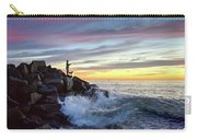 Fishing At Sunset Carry-all Pouch