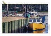 Fishing Boats At Wharf In Marie Joseph Carry-all Pouch