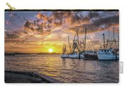 Fishing Boats II Carry-all Pouch by Tom Singleton