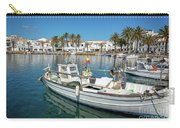 Fishing Port In Menorca Carry-all Pouch