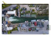 Fishtown Dam Panorama From Above Carry-all Pouch