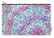 Comfortably Cosmic, In Lavendar Carry-all Pouch