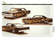 Flamin Chevrolet 66 Nova Carry-all Pouch