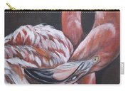 Flamingo Grace Carry-all Pouch