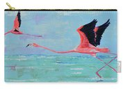 Flamingoes For Audrey Carry-all Pouch