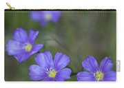 Flax Wildflowers Carry-all Pouch