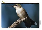 Flick Of The Tongue - Ruby-throated Hummingbird Carry-all Pouch