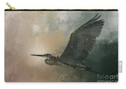 Flight Of The Great Blue Carry-all Pouch