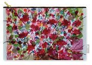 Floral Life Carry-all Pouch