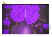 Floral Roses With So Much Passion In Purple  Carry-all Pouch