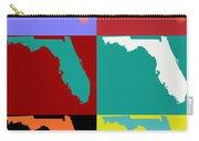 Florida Pop Art Map Carry-all Pouch