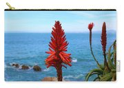 Flower By The Sea  Carry-all Pouch by Christy Pooschke