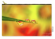 Flower In Water Droplet Carry-all Pouch