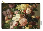 Flower Still Life Carry-all Pouch