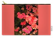 Flowers At Wynn Carry-all Pouch by Laurie Lundquist
