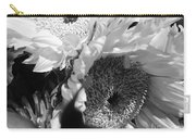 Flowers Dark And Light Carry-all Pouch by Robert Knight