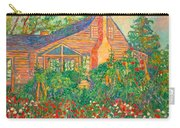 Flowery Backyard Carry-all Pouch