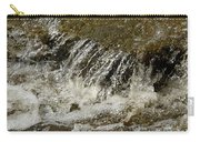 Flowing Water Over Rocks Carry-all Pouch