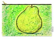 Fluorescent Pear Carry-all Pouch
