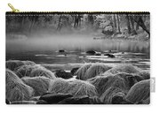 Fog On Yosemite River Carry-all Pouch