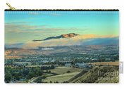 Fog Over Squaw Butte Carry-all Pouch
