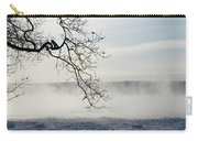 Fog Over The River Carry-all Pouch