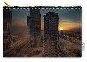 Foggy Day 1 Carry-all Pouch by Juan Contreras