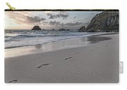Follow Me Thoughtful Coastal Sunrise Carry-all Pouch