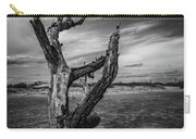 Folly Beach Lonesome Tree Carry-all Pouch by Donnie Whitaker