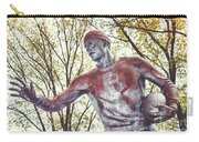 Football Statue - Rutgers University Carry-all Pouch