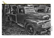 Ford F4 Tow The Truck Hook And Book Black And White Carry-all Pouch