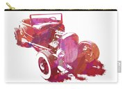 Ford Flathead Roadster Two Pop Carry-all Pouch by David King