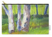 Forest Color Landscape Carry-all Pouch