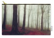 Forest In December Mist Carry-all Pouch