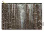 Forest In Sleeping Bear Dunes In January Carry-all Pouch