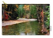 Forest With River Carry-all Pouch