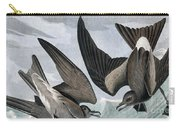 Fork Tailed Petrel, Thalassidroma Leachii By Audubon Carry-all Pouch