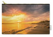 Fort Foster Sunset Watchers Club Carry-all Pouch by Jeff Sinon